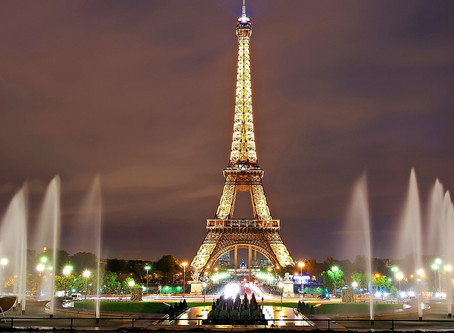 The most visited European cities: Paris.