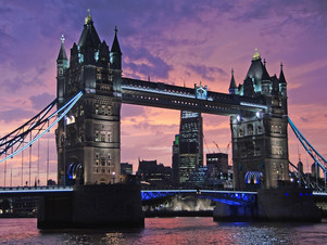 The most visited European cities: London.