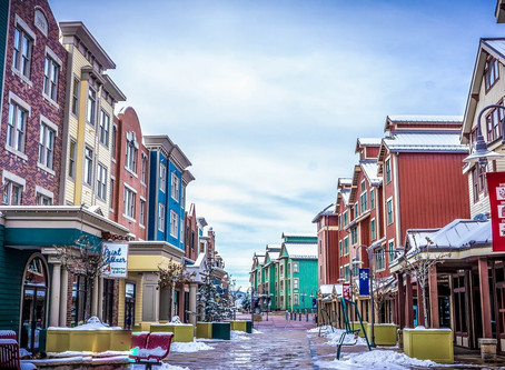 Winter Destinations: Park City Utah.