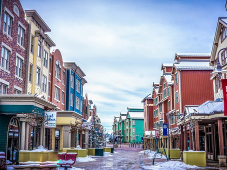Winter Destinations: Park City Utah.