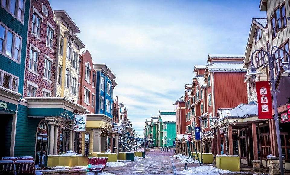 Par City Utah main street
