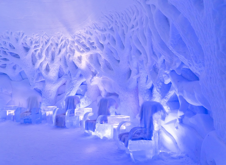 The best ice and snow hotels