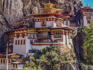 The most amazing religious places around the world: Tigers Nest, Bhutan