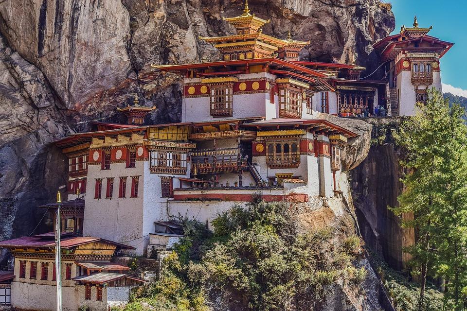 Tigers Nest temple, Bhutan