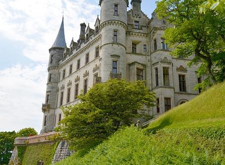 Famous Scottish castles, Dunrobin.