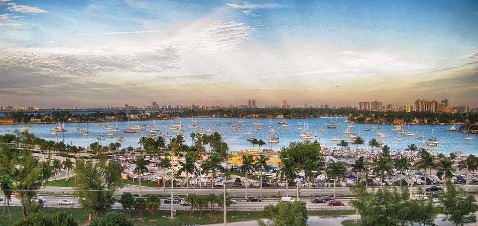 Miami, USA, waterfront - Beach