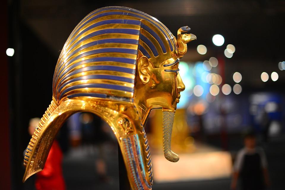 Tutankhamen golden mask