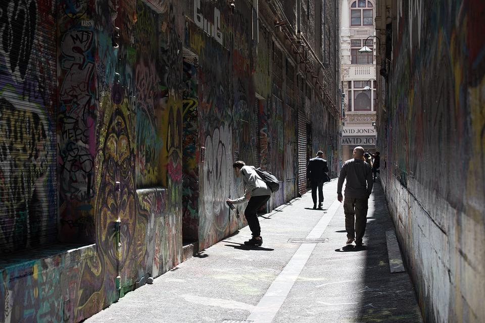graffiti-artist, union lane