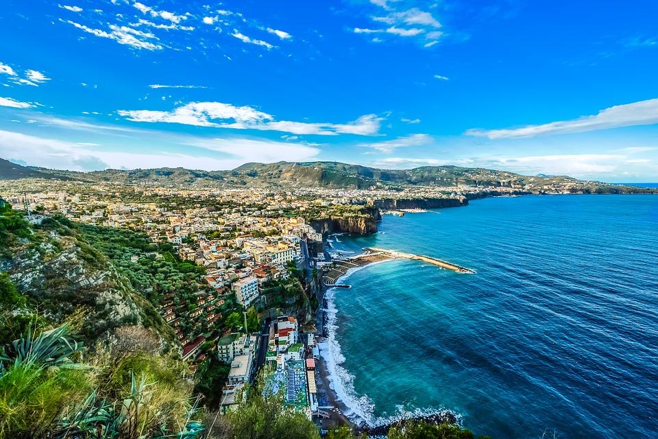 Amalfi panorama of the coast