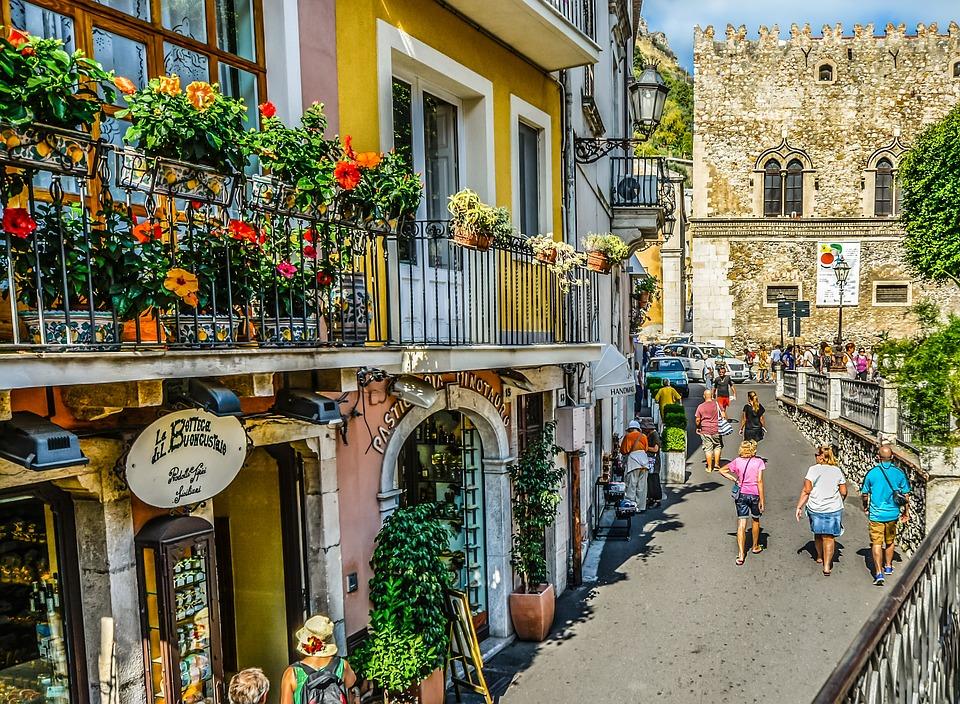 italy taormina, Sicily