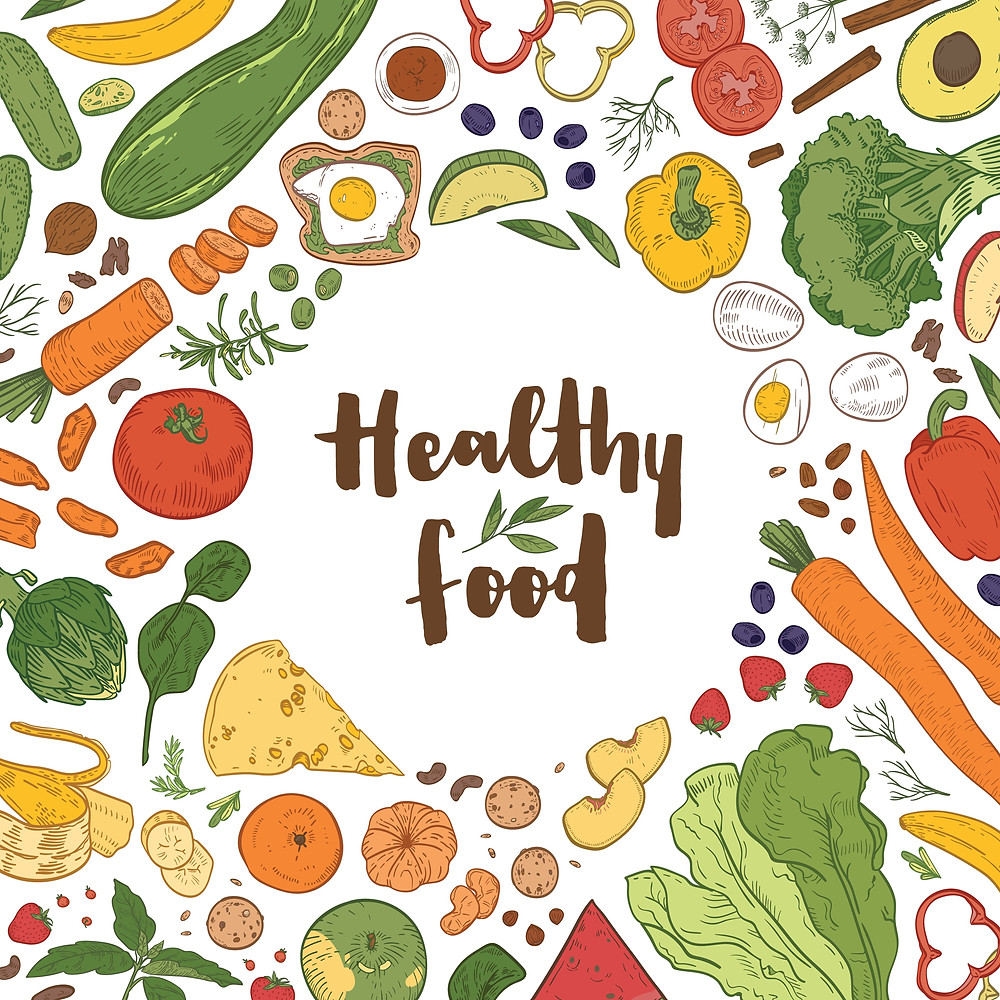 healthy foods are the secret weapons for fitness and healthy dieting