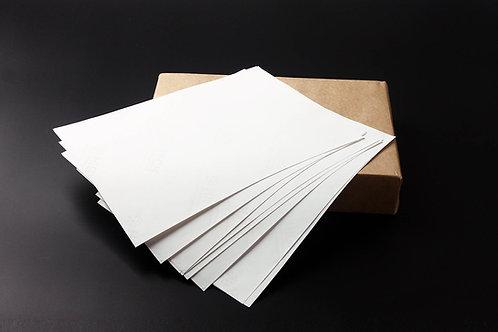 60gsm 75/25 cotton & linen paper ( white ) - No.MCYT024