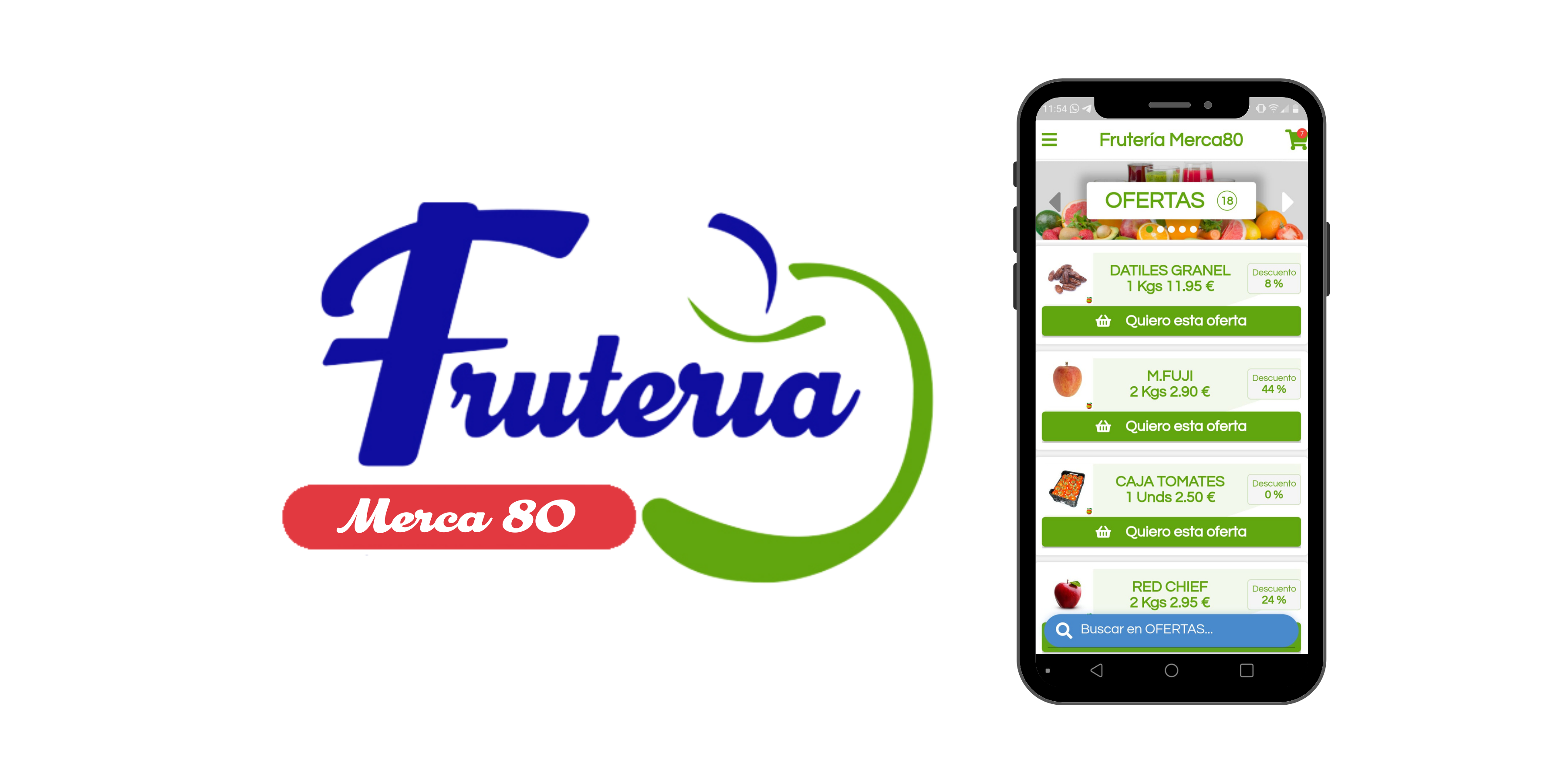 Fruteria Merca80