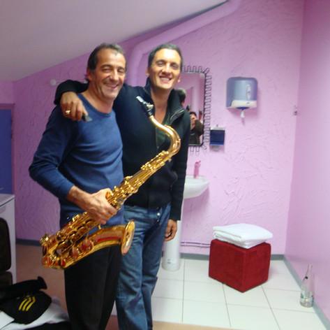 Avec Dany Brillant (Istambul)
