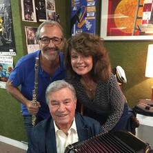 Avec Marcel Azzola et Patricia Chavinier