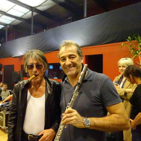 Avec Jacques Dutronc