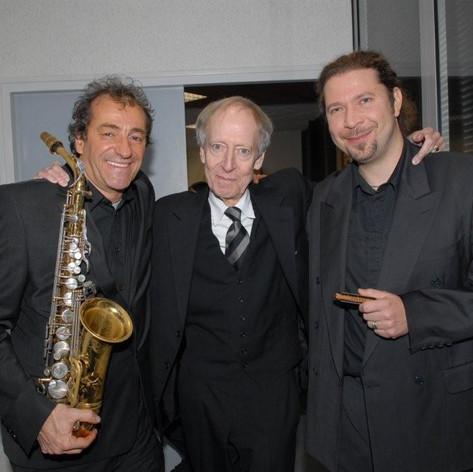 Avec John Barry et Sébastien Charlier