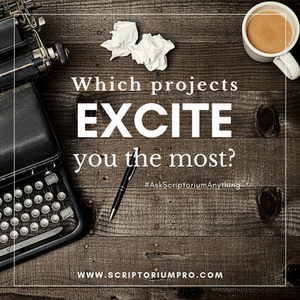 Which projects excite you the most?