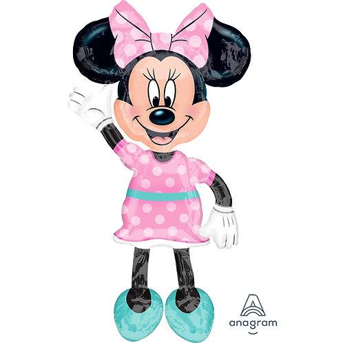 Minnie Mouse Air Walker Helium Balloon - g04
