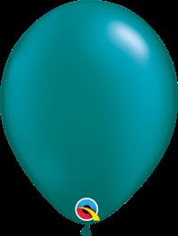 "11"" Pearl Latex Balloon - Pearl Teal"