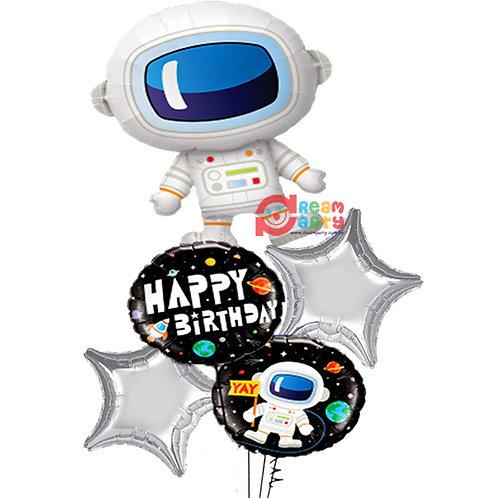 Astronaut Helium Balloon Bouquet - bq61