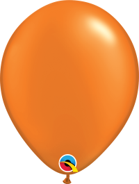 "11"" Pearl Latex Balloon - Pearl Mandarin Orange"
