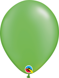 "11"" Pearl Latex Balloon - Pearl Lime Green"