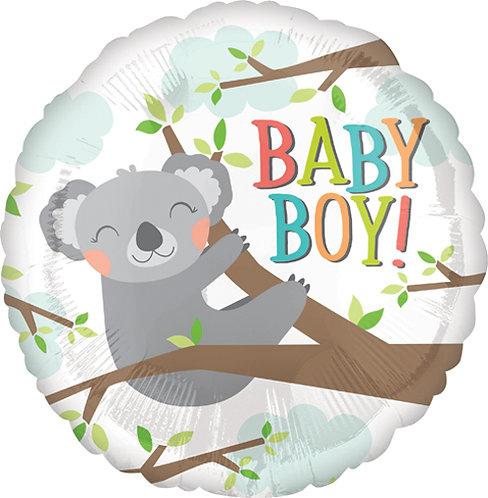 """18"""" Baby Boy Koala Helium Balloon - bb19"""