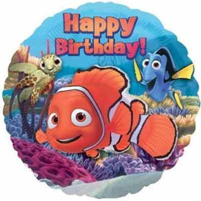"18"" Nemo & Friends HBD Helium Balloon - y23"