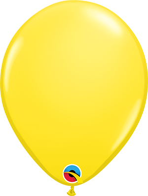 "11"" Standard Latex Balloon - Yellow"
