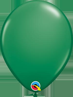 "11"" Standard Latex Balloon - Green"