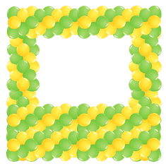 Yellow square balloon-arch.png