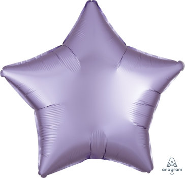 "19"" Satin Luxe Star Foil Balloon - Pastel Lilac"