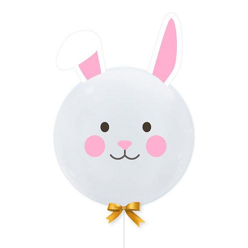 [Animal] Hop Hop Hop like a Bunny Balloon (20inch)