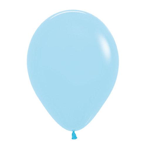 "11"" Macaron Latex Balloon - Pale Blue"