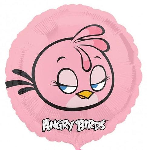 "18"" Angry Bird Stella Helium Balloon - ab09"
