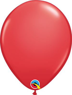 "11"" Standard Latex Balloon - Red"
