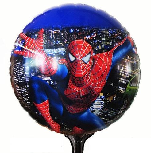 "18"" Superhero Spiderman Blue Colour Helium Balloon - s04"