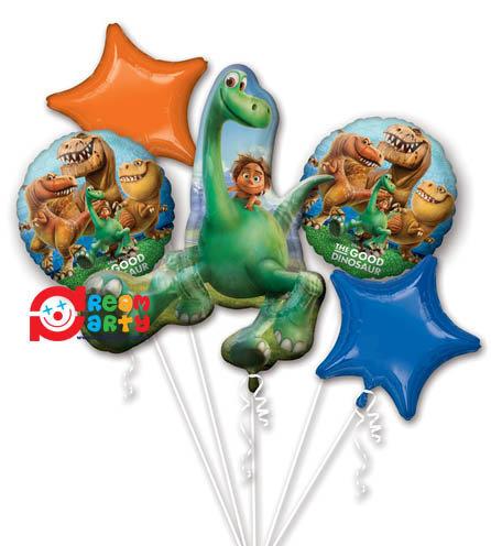 The Good Dinosaur Helium Balloon Bouquet - bq33