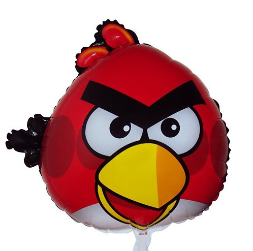 """18"""" Angry Bird Red Helium Balloon - ab01"""
