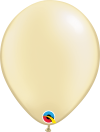 "11"" Pearl Latex Balloon - Pastel Pearl Ivory"