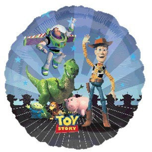 """18"""" Toy Story Family Helium Balloon - t01"""
