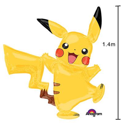 Pokemon Pikachiu Air Walker Helium Balloon - g22