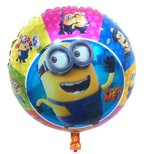 """18"""" Minions in Various Motion Helium Balloon - y51"""