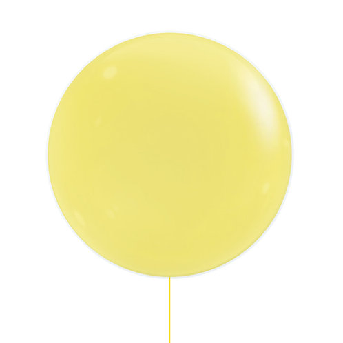 "22"" Jewel Bubble Balloon - Fashion Yellow"