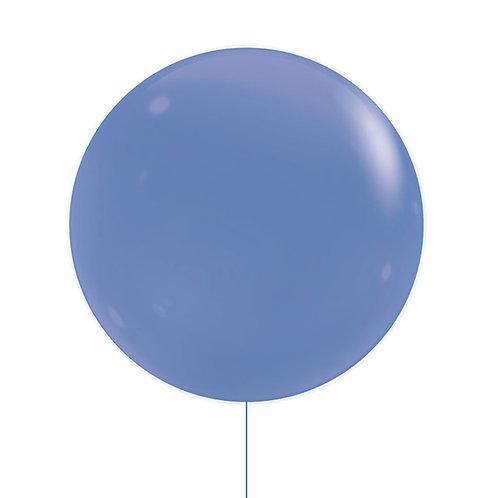 "22"" Jewel Bubble Balloon - Royal Blue"