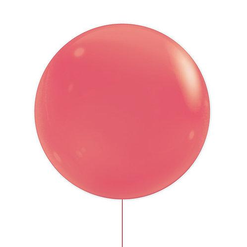 "22"" Jewel Bubble Balloon - Fashion Red"