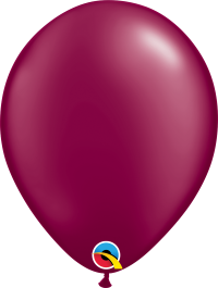 "11"" Pearl Latex Balloon - Pearl Burgundy"
