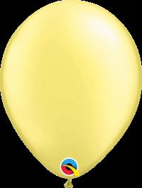 "11"" Pearl Latex Balloon - Pastel Pearl Lemon Chiffon"