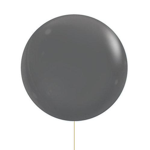 "22"" Jewel Bubble Balloon - Fashion Black"